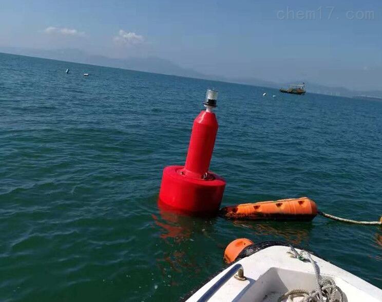 深水拦船安全警示浮标 航行浮标