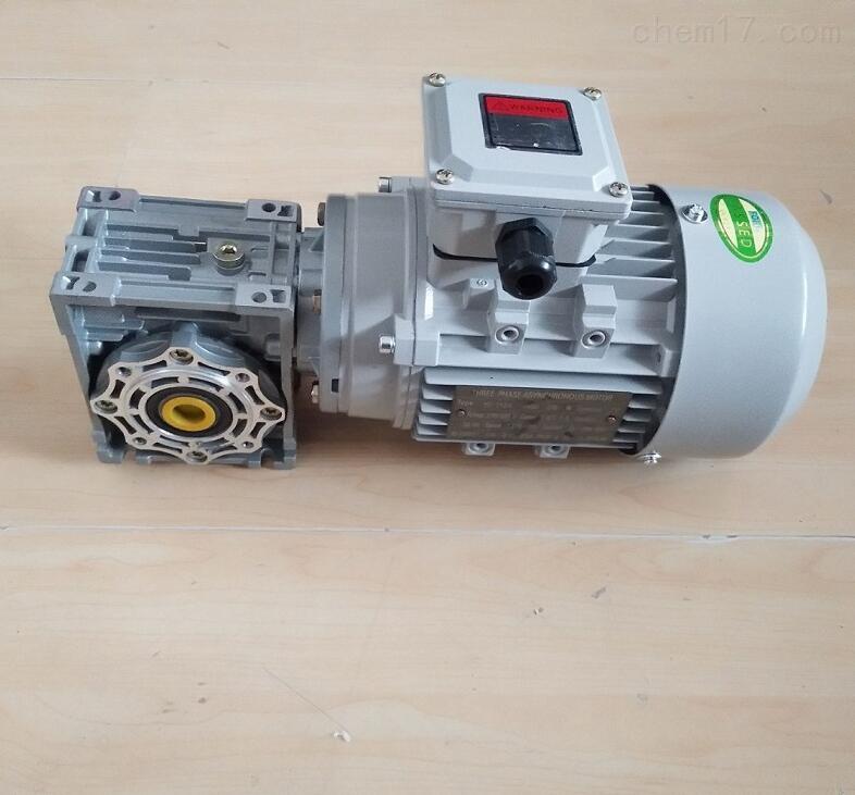 叶榭输送机用RV050-60蜗轮减速电机