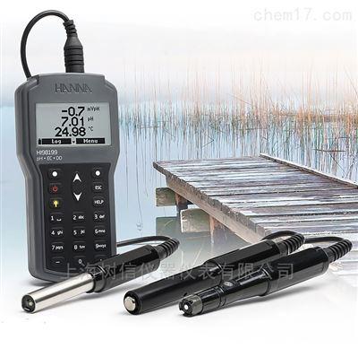 HI98199pH-EC-TDS-DO-盐度-°C多参数水质测定仪