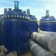 回收二手15立方搪瓷反应釜