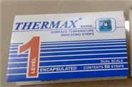英国TMC温度纸单格82度温度标签测温纸恩慈