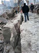 房屋基础深基坑裂石机