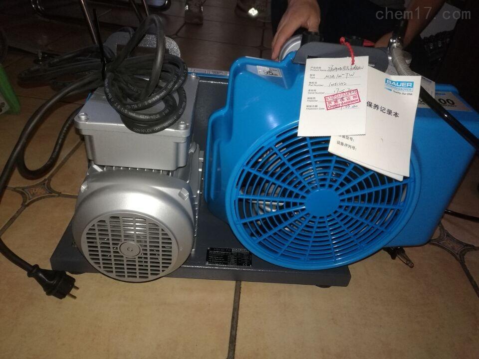 梅思安100系列高壓空氣壓縮機