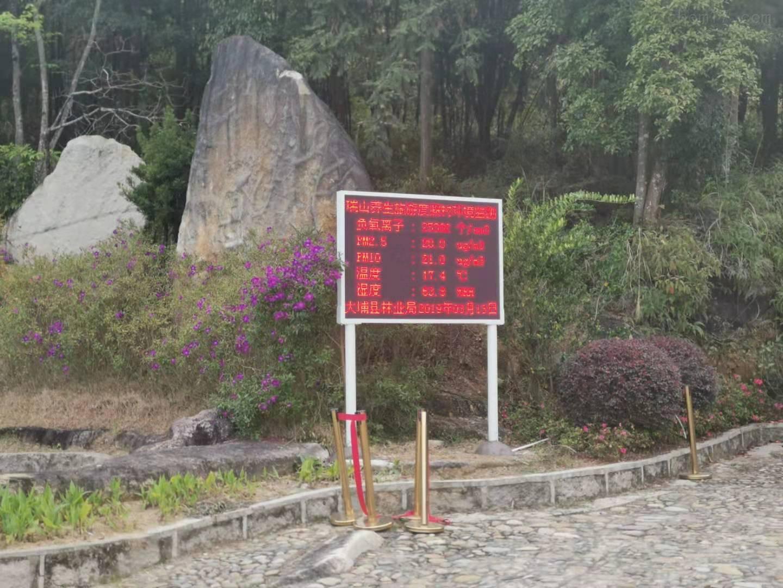 景区负氧离子监测系统厂家排名