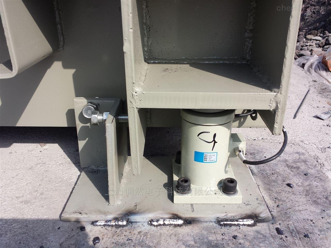 吉林100吨静态电子轨道衡/火车秤