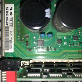 西门子840DSL屏幕显示花屏闪屏当天维修解决