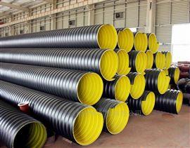 河南省高强度钢带波纹管 抗冲击HDPE钢带管