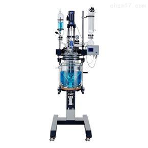 SJS212-50L高硼硅双层玻璃反应釜升降款