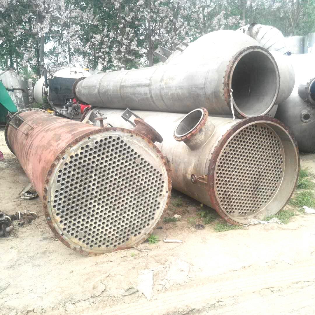 高价求购1-20吨二手强制循环蒸发器