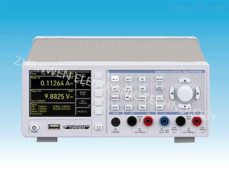 数字万用表HMC8012系列