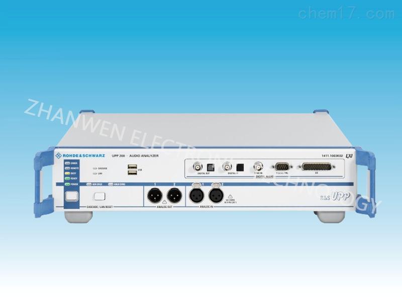 德国RS罗德与施瓦茨音频分析仪UPP系列