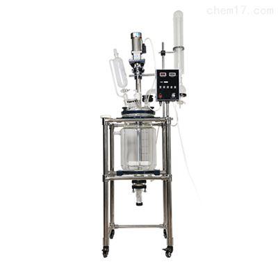 50L小型搅拌双层玻璃反应釜