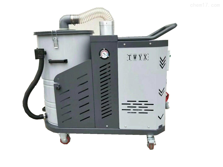水泥级匀质聚苯板生产线除尘用工业吸尘器