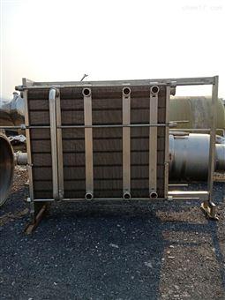 二手板式换热器*二手50平方冷却器