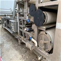 二手3乘15米带式压滤机18年四川磊蒙生产