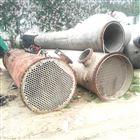 250平方二手钛材质列管冷凝器保养方式