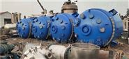 二手10吨搪瓷反应釜框式搅拌11KW防爆电机