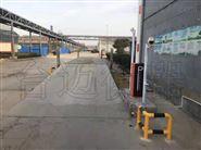 浙江温州100吨地磅车牌识别开道闸称重系统