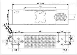 JBS-A-100kg/10g 高精度数字称重传感器