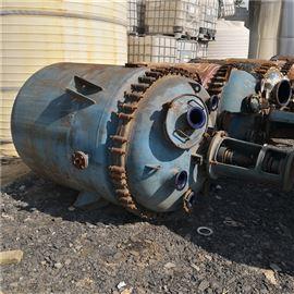 100-6000处理二手高压反应釜 不锈钢搪瓷
