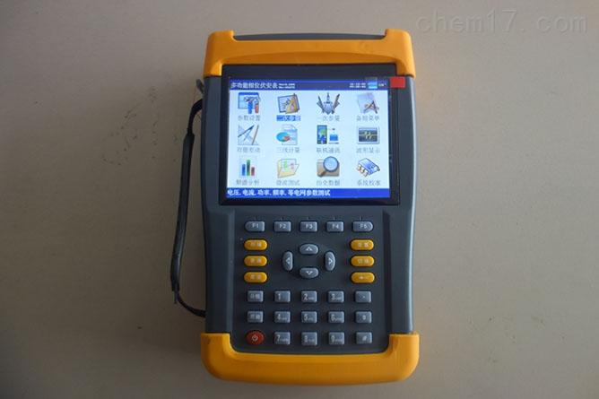 便捷式三相电能表现场校验仪器