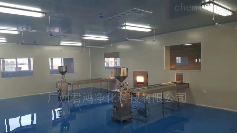 番禺食品厂净化车间装修设计与施工