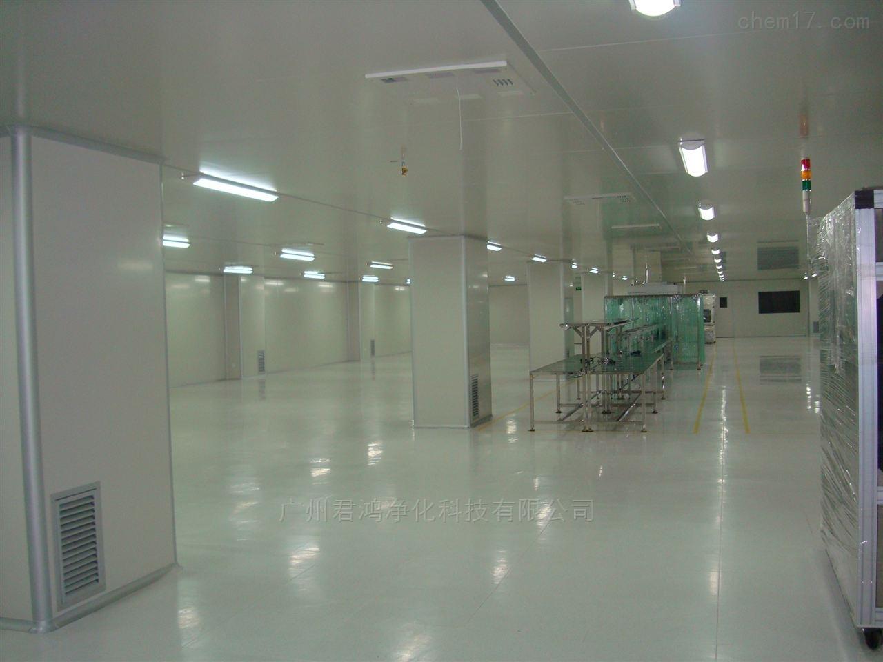 广州市南沙区食品厂30万级净化车间装修