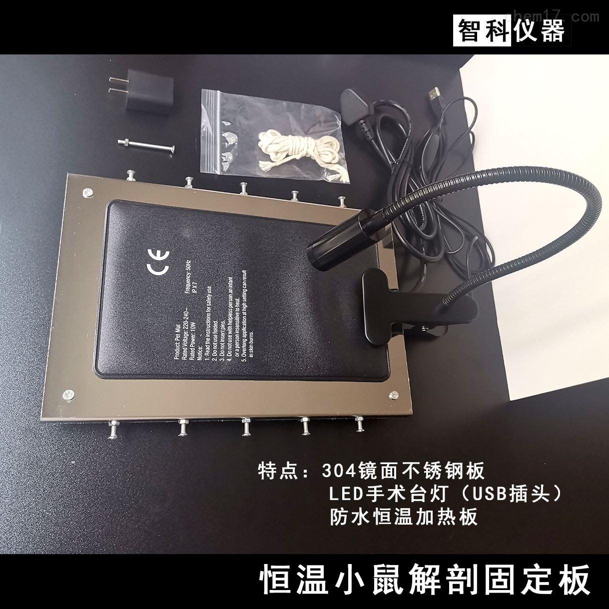 小鼠恒温加热垫 解剖台 手术板