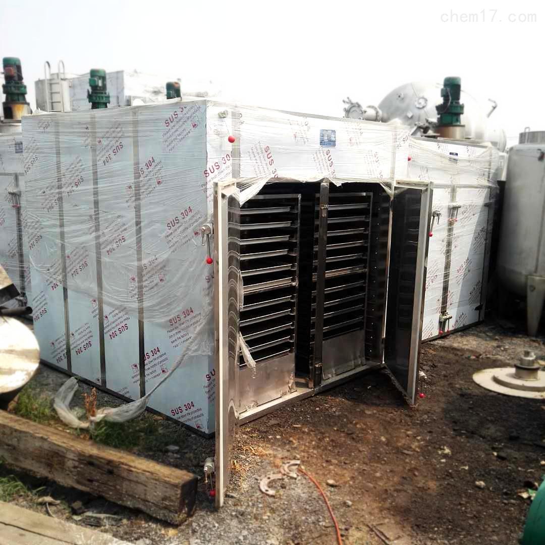二手热风循环烘箱二手烘箱三门六车盘烘箱
