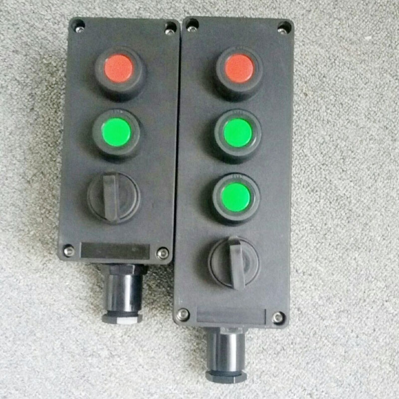 BZA8050-A3化工厂防爆防腐启停按钮开关盒