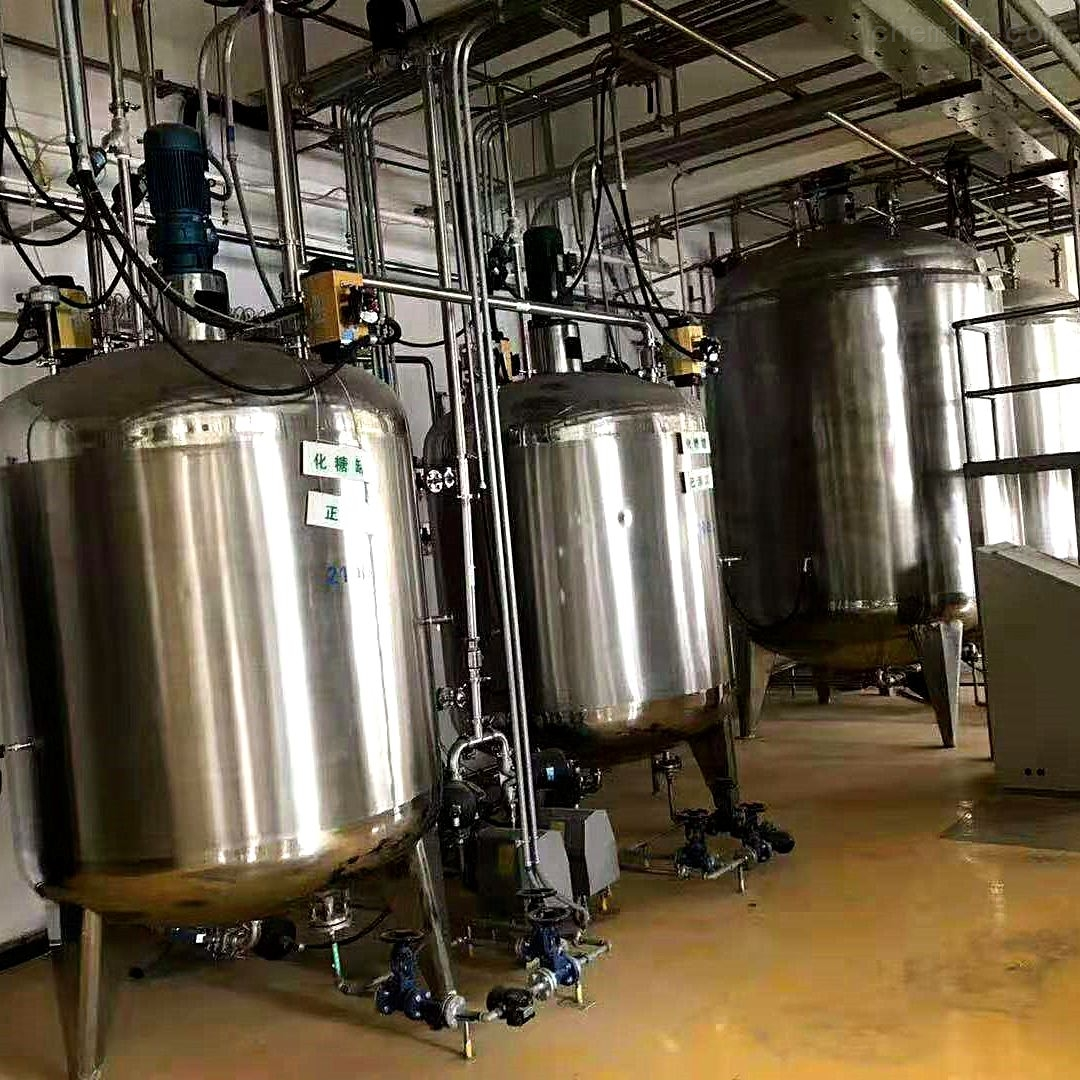 国鑫出售九成新4吨二手不锈钢发酵罐