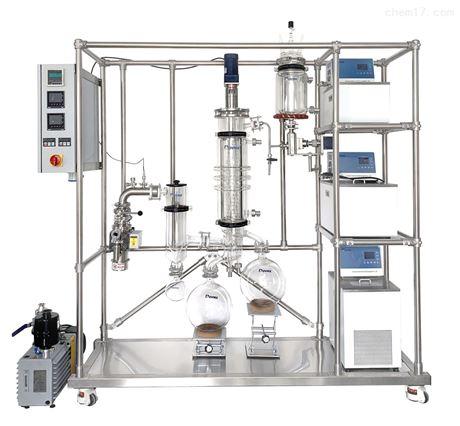 玻璃刮膜式分子蒸馏