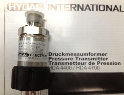 德国HYDAC传感器HDA4745-B-600-031