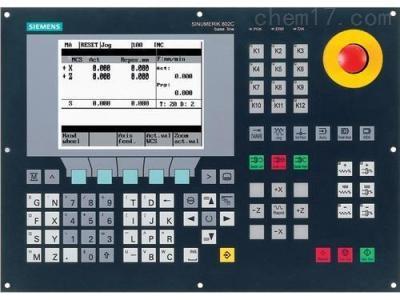 西门子802D数控系统开不了机维修
