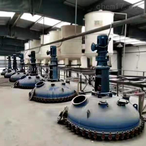 12立方12000升闭式二手杨阳搪瓷反应釜
