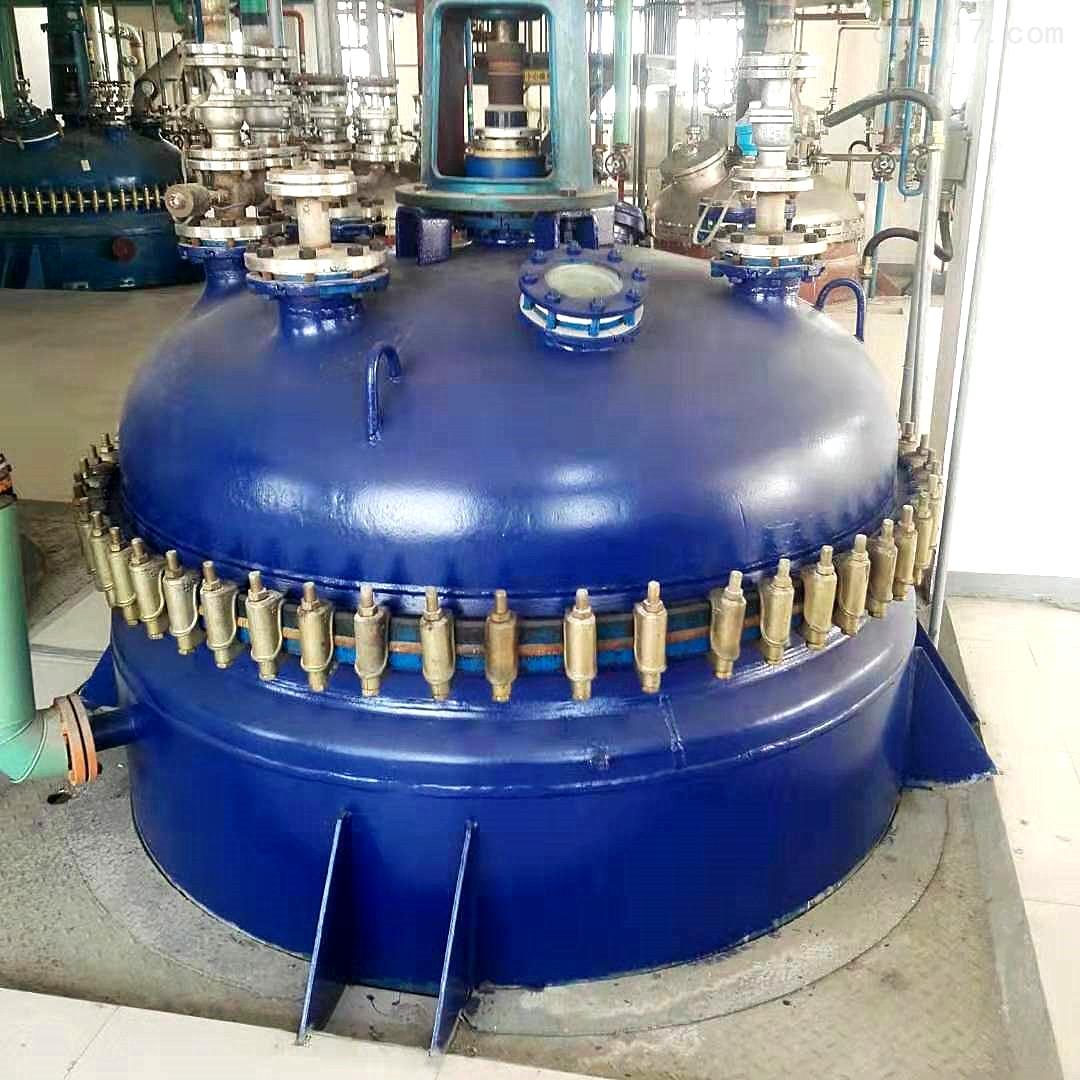 6立方6000升闭式二手杨阳搪瓷反应釜