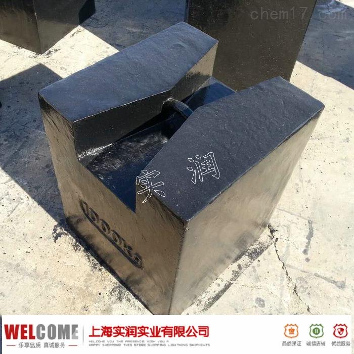 1000kg锁形砝码;M1等级铸铁材质