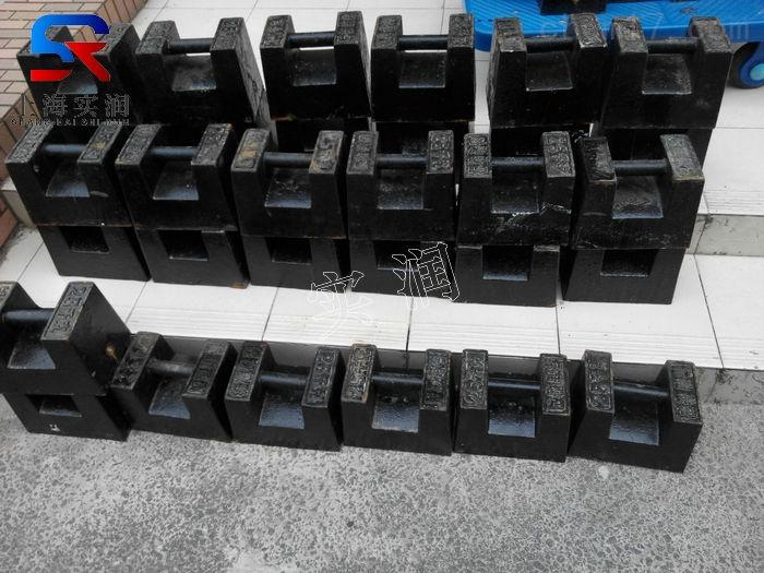 20公斤铸铁砝码发货到广东清远的价格