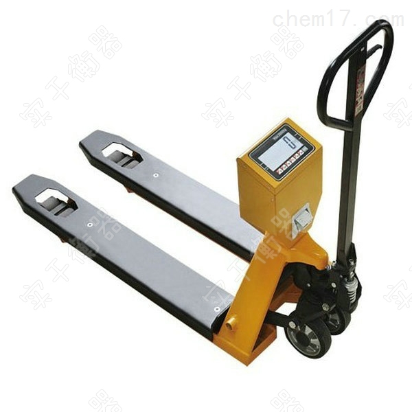 带打印搬运叉车秤,仓储专用打印功能电子秤