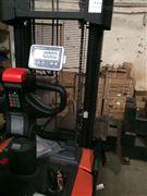倉儲1.5噸堆高叉車秤-堆垛車安裝1噸電子秤