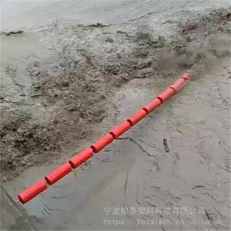 护城河道垃圾拦载塑料环保浮筒