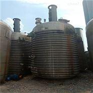 10立方卧式搪瓷反应罐带架套能加热30台