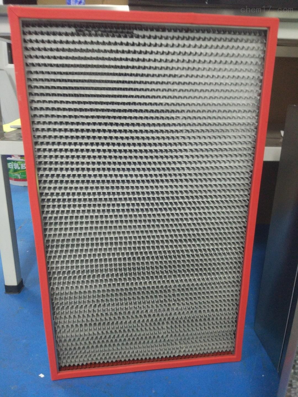 广州开发区超净烘箱专用耐高温过滤器