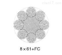 8×61(ab)8×91(ab)类圆股钢丝绳