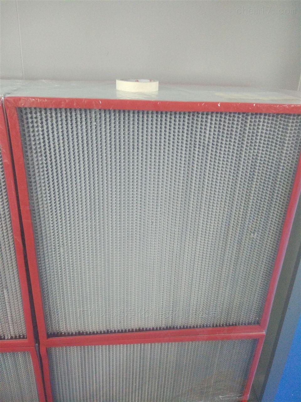 宁夏银川玻纤耐高温高效过滤器
