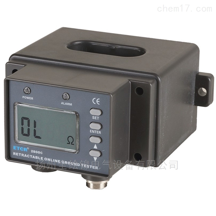 ETCR2800C非接触式接地电阻在线检测仪