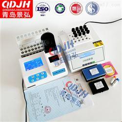 JH-TD300厂家三参数水质测定仪实验室氨氮总磷检测仪