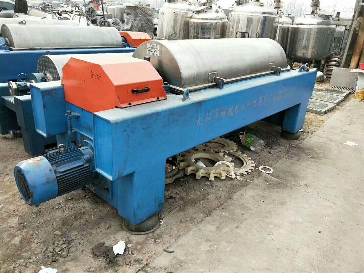 回收二手下卸料平板离心机干气密封的特性