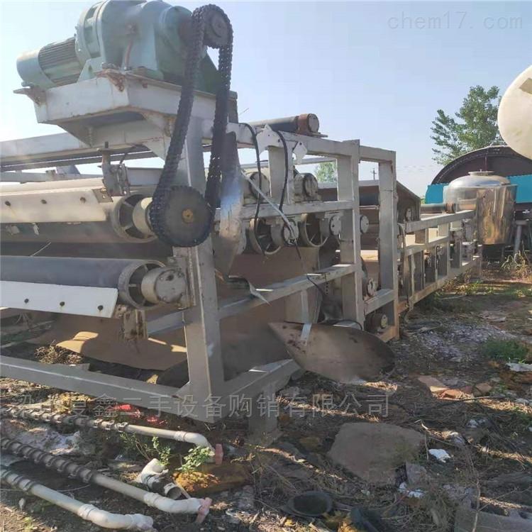 出售二手带式压滤机 污泥脱水机 可安装调试