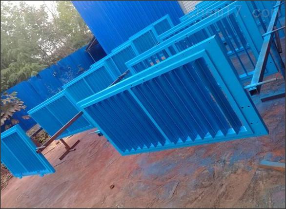 竹胶板矿用全自动无压风门